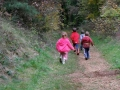 crèche en forêt  Kayl- course sur les sentiers